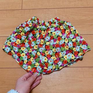 シマムラ(しまむら)の花柄キュロット👧❤️(スカート)