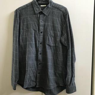 ジーユー(GU)のチェックシャツ(シャツ)