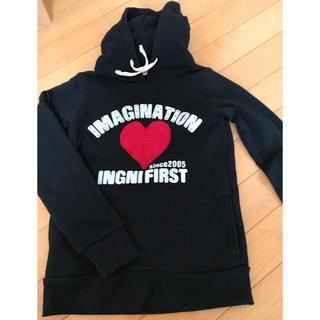 イングファースト(INGNI First)のINGNI First フード付きトレーナー140(その他)
