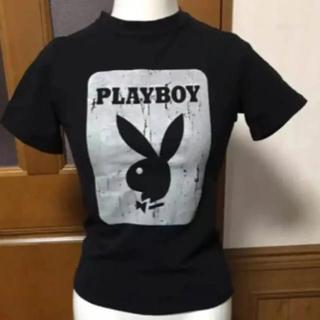 プレイボーイ(PLAYBOY)のプレイボーイ PLAY BOY Tシャツ 中古 激安 レディース 半袖(Tシャツ(半袖/袖なし))