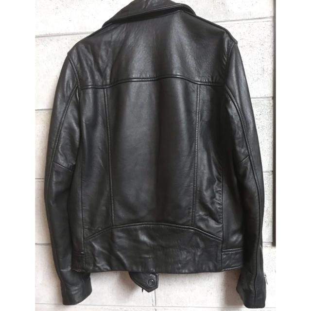 All Saints(オールセインツ)の【美品】ライダースジャケット オールセインツJapanで購入。正規品 メンズのジャケット/アウター(レザージャケット)の商品写真