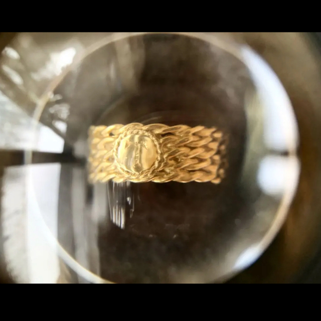 AURORA GRAN(オーロラグラン)のほぼ未使用♡オーロラグラン18k セイラーリング レディースのアクセサリー(リング(指輪))の商品写真