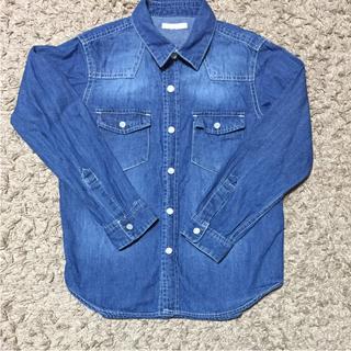 ジーユー(GU)のGU☆120シャツ2枚SET(Tシャツ/カットソー)