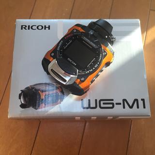 リコー(RICOH)の【新品】RICOH 防水アクションカメラ WG-M1 オレンジ(その他)