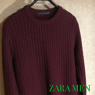ザラ(ZARA)のZARA MEN クルーネック ニットセーター(ニット/セーター)