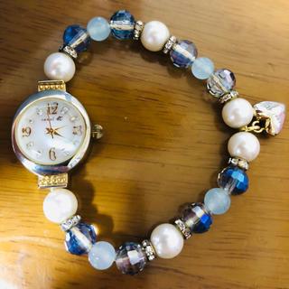 カナルヨンドシー(canal4℃)のcanal 4℃ ビーズウォッチ 腕時計(腕時計)