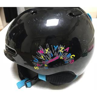 スキーヘルメットジュニア52〜56センチ(その他)
