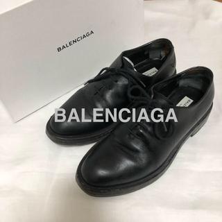 バレンシアガ(Balenciaga)のBALENCIAGA 16AW レザーダービーシューズ(ドレス/ビジネス)