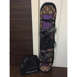 K2 - スノーボード板&ビンディング&ケース付き