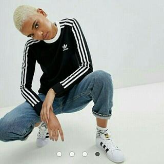 アディダス(adidas)の【新品】adidas Originals  長袖  Tシャツ M(Tシャツ(長袖/七分))