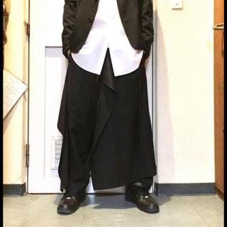 ヨウジヤマモト(Yohji Yamamoto)のground y  スカートパンツ(サルエルパンツ)