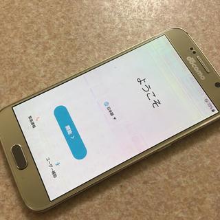 ギャラクシー(galaxxxy)の【美品】GALAXY S6 DOCOMO(スマートフォン本体)