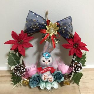 ディズニー(Disney)のクリスマス用壁掛けリース(リース)