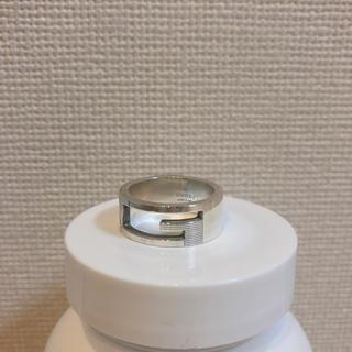 グッチ(Gucci)のGUCCIの正規品*Gロゴのシルバーリング15号(リング(指輪))