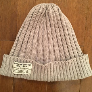 シマムラ(しまむら)のニット帽 ニットキャップ ビーニー しまむら 新品未使用(ニット帽/ビーニー)