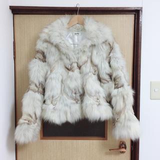 アンディ(Andy)のAndy ブルーフォックスデザインファージャケット(毛皮/ファーコート)