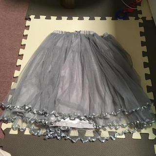 アイズビット(ISBIT)のアイズビット ISBIT チュール♪二段 スカート(ひざ丈スカート)