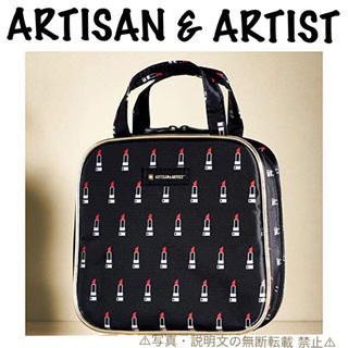アルティザンアンドアーティスト(Artisan&Artist)の⭐️新品⭐️【アルティザン&アーティスト】リップ柄スクエアポーチ★付録❗️(ポーチ)