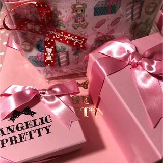 アンジェリックプリティー(Angelic Pretty)のアンジェリックプリティ2018お茶会お土産ギフトセット(イヤリング)