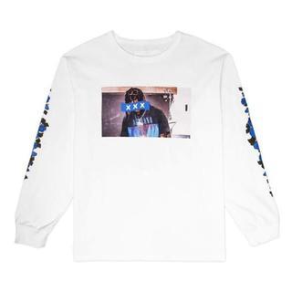 ジィヒステリックトリプルエックス(Thee Hysteric XXX)の完売 新品 GOD SELECTION XXX L/S ホワイト L(Tシャツ/カットソー(七分/長袖))