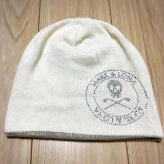 マークアンドロナ(MARK&LONA)のMARK&LONA マークアンドロナ リバーシブルニット帽(ウエア)
