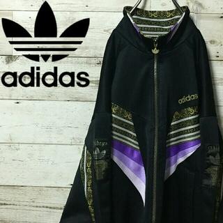 アディダス(adidas)の【レア!】90s アディダス  デサント製 ヴィンテージ トラックジャケット(ジャージ)