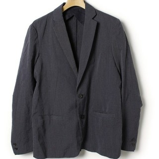 エディション(Edition)のエディション テーラードジャケット 美品 サイズ2 ネイビー 定価30240円(テーラードジャケット)