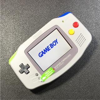 GBA ゲームボーイアドバンス バックライト カスタム 明るさ5段階調整可能