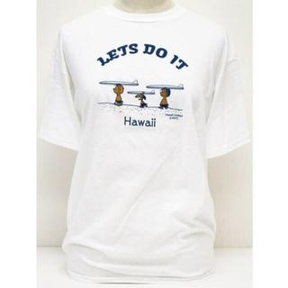 スヌーピー(SNOOPY)の日焼けスヌーピーハワイ限定Tシャツ(Tシャツ(半袖/袖なし))