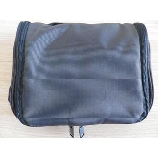 ムジルシリョウヒン(MUJI (無印良品))の無印良品 吊して使える洗面用具ケース ポーチ ネイビー(旅行用品)