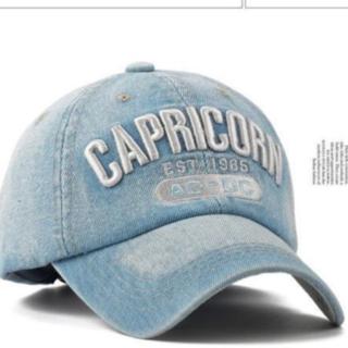 CAPRICORNデニム キャップ /ライトブルー(キャップ)