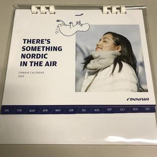【新品・未開封】フィンエアー2019年卓上カレンダー(航空機)