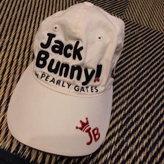 パーリーゲイツ(PEARLY GATES)のJack Bunny キャップ ゴルフ(キャップ)