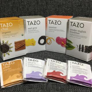TAZOtea★タゾティー★紅茶・ハーブティー 計4種類(茶)