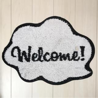 フランフラン(Francfranc)のフランフラン ラインマット Welcome!(玄関マット)