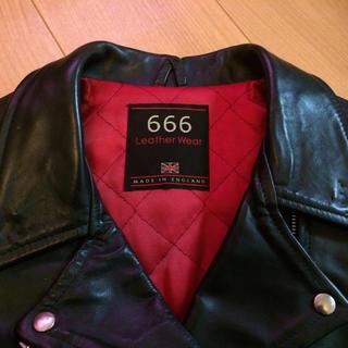 シックスシックスシックス(666)の666 ライダース レディース (ライダースジャケット)