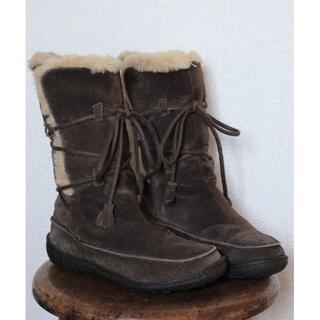 カンペール(CAMPER)のCAMPER ブーツ(35)■カンペール/ボア/スウェード/キッズ(ブーツ)