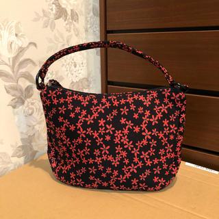 サクスニーイザック(SACSNY Y'SACCS)の新品 黒地に花柄のサクスニーイザックバッグ(ショルダーバッグ)