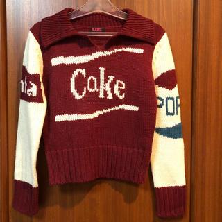 新品 LDSの襟付きセーター