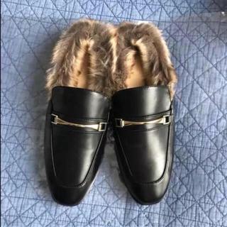 ジーユー(GU)のGU ファースリッパ(ローファー/革靴)