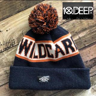 テンディープ(10Deep)のニット帽 10deep テンディープ ユニセックス 帽子 ボンボン USA DJ(ニット帽/ビーニー)