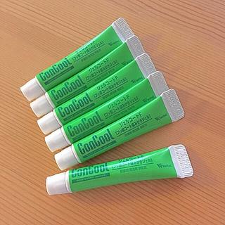 旅行にも♪  ウェルテック コンクールジェルコートF【試供品】6本セット(歯磨き粉)