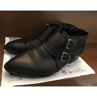 ナンバージュウイチ(n゜11)のナンバー11 n゜11  ベルトショートブーツ ブーティー(ブーツ)