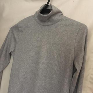 ジーユー(GU)のハイネックTシャツ(Tシャツ(長袖/七分))