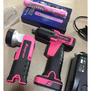 スナップオン  コードレス インパクト ピンク LED ペンライト(メンテナンス用品)