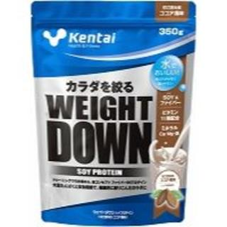ケンタイ(Kentai)のkentai 健康体力研究所 ウェイトダウン ソイプロテイン ココア 350g(プロテイン)