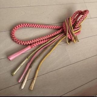 ⑦  帯締め新品の絹100%の 帯締め訪問着や着物 振袖 正絹帯締め訪問着や着物(振袖)
