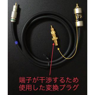 サエク 同軸デジタルオーディオケーブル 1.5m(その他)
