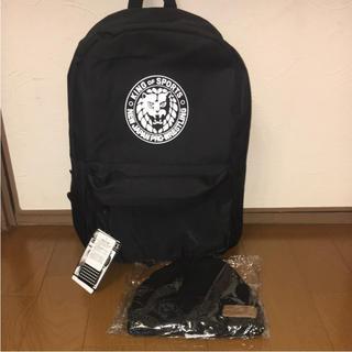 シマムラ(しまむら)のしまむらブラックパック ☆ リュック&ニット帽セット 新品(リュック/バックパック)