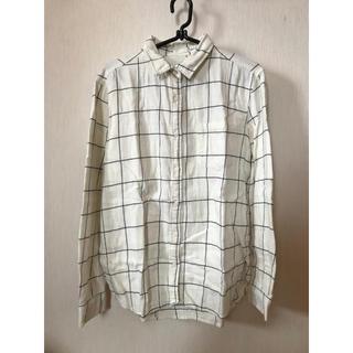 ジーユー(GU)のメンズ チェックシャツ(シャツ)